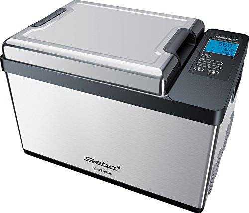 Steba SV 200 Pro Sous-Vide Garer 12,5 L Volumen, Pumpenleistung 7,5 L/min