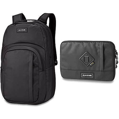 Price comparison product image Dakine Campus L 33L Backpack with Dakine 365 Tech Sleeve Bundle / Quick-access Storage,  Fits Laptop or Tablet,  Roomy Construction (Squall)