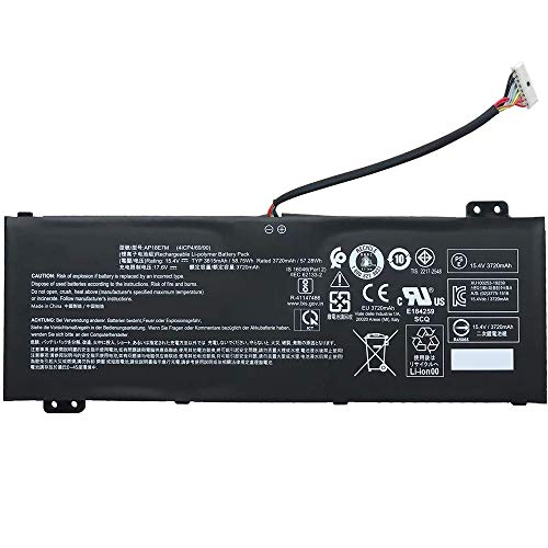 AP18E7M AP18E8M Laptop Battery Replacement for Acer Nitro 5 AN515-54 AN517-51 Nitro 7 AN715-51 Aspire 7 A715-74G Predator Helios 300 PH315-52 PH317-53 Triton 300 PT315-51 (15.4V 58.75Wh)