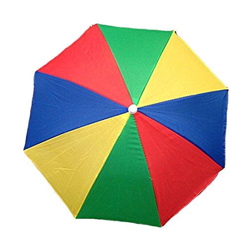 Luwu-Store Tragbarer Regenschirm, Sonnenschutz, für Camping, Angeln, Wandern, Wassermelone, 1 Stück