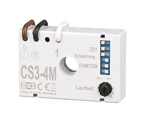Elektrobock CS3-4M Multifunktions Nachlaufrelais Unterputz