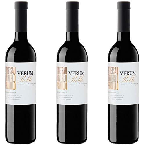 Verum Vino Roble Tinto - 3 Botellas - 2250 ml