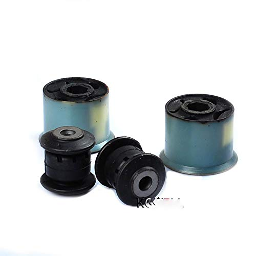 Auto onderdelen 4Pcs Controle Arm Bussen Receptie/Lager For VW Jetta Golf GTI 5 MKV MK6 For Passat CC For Tiguan Skoda Octavia 1K0 407 183 1K0 407 182
