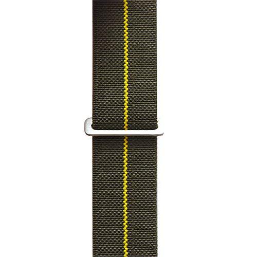 SRKL Band 20 22 23mm Nato Elastische Nylon Riem Algemeen Horlogeband Armband, 23mm, G-Y