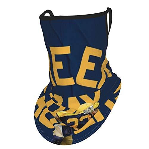 Opiadco Gesichtsbedeckung Green Bay Packers Mehrzweck-Outdoor-Röhrenschal zum Reiten, Wandern, Skifahren, Angeln, Camping, Outdoor-Aktivitäten