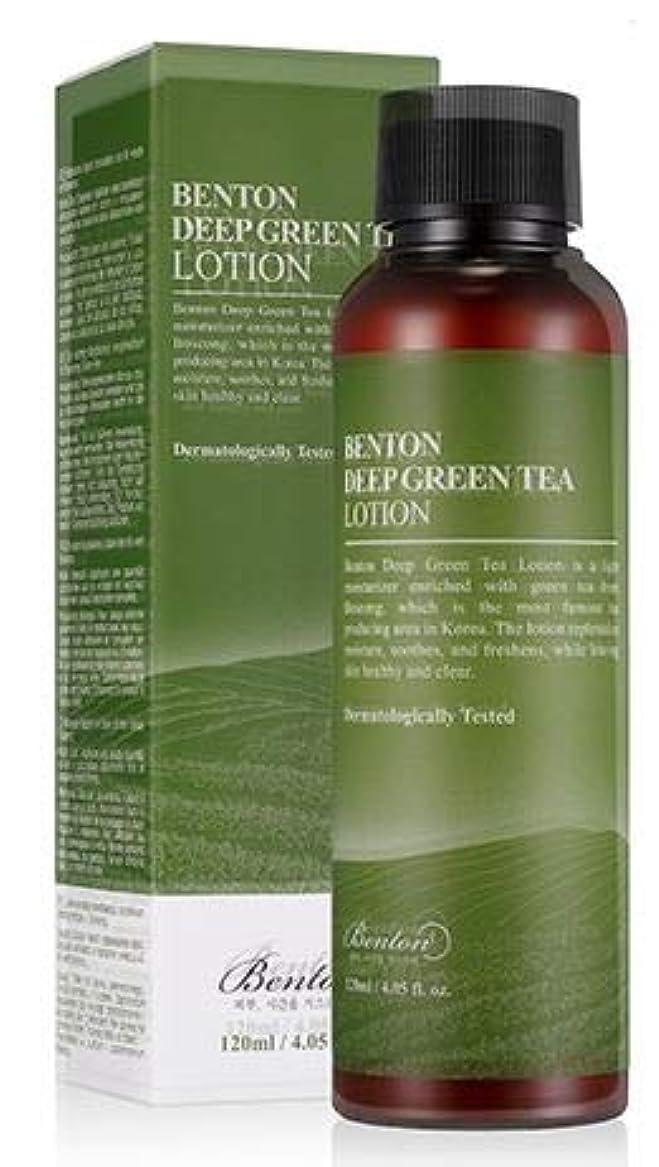 引っ張る香港グローブ[Benton] DEEP GREEN TEA LOTION 120ml / [ベントン] ディップ グリーンティー ローション 120ml [並行輸入品]