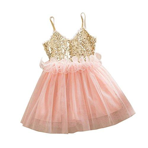 ? Amlaiworld Sommer Pailletten Band Prinzessin Party Kleid Mode Strand Tanktop Tütü Hochzeit...