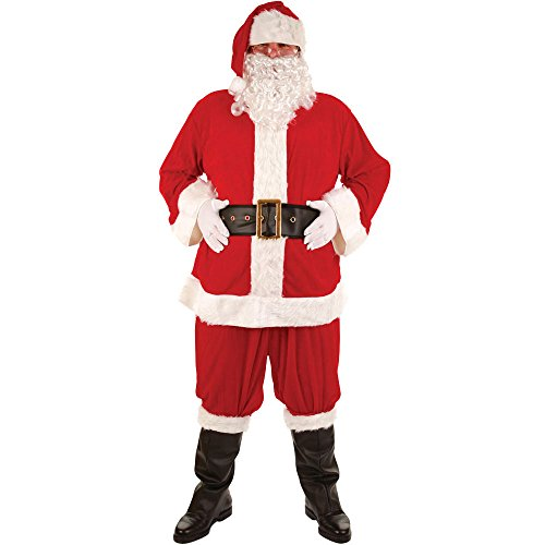 Wicked Costumes Super Deluxe 8pc Santa Outfit (One Size)
