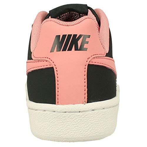NIKE NIKE ZAPATILLAS COURT ROYALE (GS) ANTHRACITE/BRIGHT MELON WHITE, Unisex Adult's Sneaker, Black, 5.5 UK (38.5 EU)