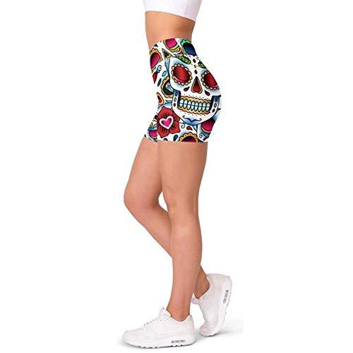 bayrick Caliente en Europa y América,Shantou Imprimir Pantalones de Yoga Pantalones Cortos Casuales para Mujer-2_XS
