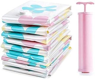 مجموعة من حقائب التخزين المفرغة من الهواء من 11 قطعة لكل مجموعة للتخزين، حقائب مفرغة مضغوطة الحجم لتنظيم الملابس