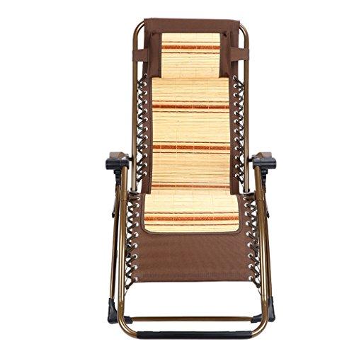 Qi Tai- Verstelbare klapstoel Lounge Chair Klapstoel Lunchpauze Stoel Zomer Cool Home Bamboe Stoel Balkon Vrijetijdsstoel strandstoel