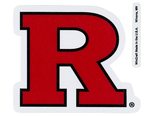 "WinCraft NCAA Rutgers Perfect Cut Color Decal, 4"" x 4"""