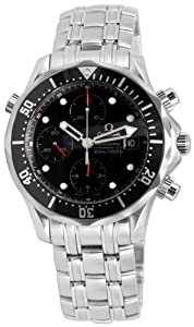 Omega Men's 213.30.42.40.01.001 Seamaster 300M Chrono Diver Black Dial Watch image