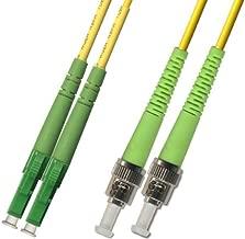 1M - Singlemode Duplex Fiber Optic Cable (9/125) - LC/APC to ST/APC