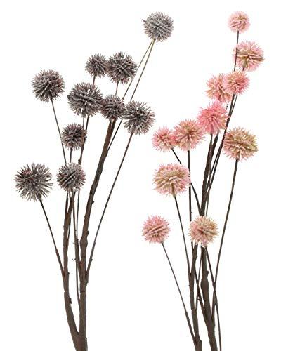 """FRANK FLECHTWAREN Zweig """"Blüten"""" im 2er Set"""