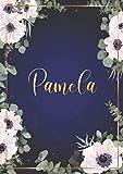 Pamela: Cuaderno de notas A5 | Nombre personalizado Pamela |