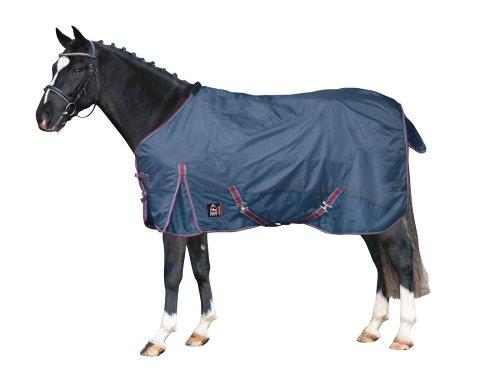 PFIFF 100263 paarden outdoor deken, regendeken paardendedeken, wilgendeken, 125-165, 135 cm, blauw