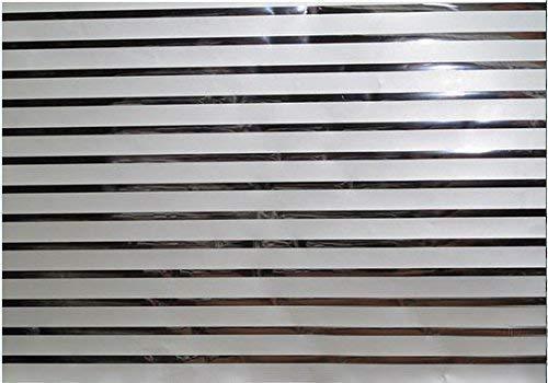 TipTopCarbon 6,57€/m² Fenster Sichtschutzfolie Milchglasfolie SILVER-LINE10 152cm Breite Fensterfolie Design Dekofolie Folie Selbstklebend