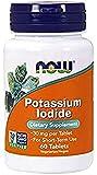 NOW Foods Yoduro De Potasio, 30 Mg 60 Unidades 40 g