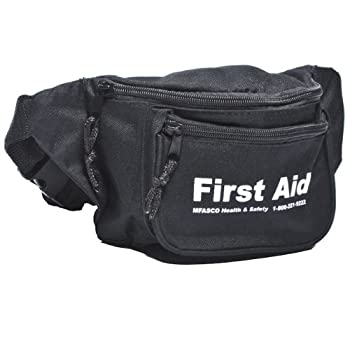 First Aid Fanny Pack Pouch Empty Black