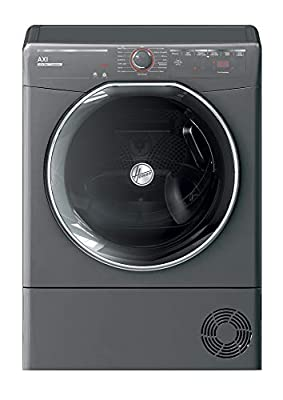 Hoover AXI ATDC10TKERX Freestanding Condenser Tumble Dryer, Wifi Connected, 10kg Load, Graphite