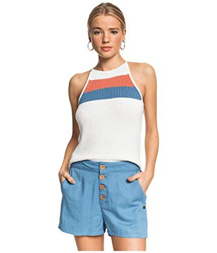 Roxy Damen Carmel Beach Legere Shorts, Blue Heaven, Klein