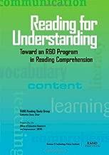 Reading for Understanding: Toward an R & D Program in Reading Comprehension: Toward an R and D Program in Reading Comprehension