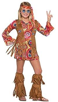 Forum Novelties Girl s Peace Loving Hippie Costume Small
