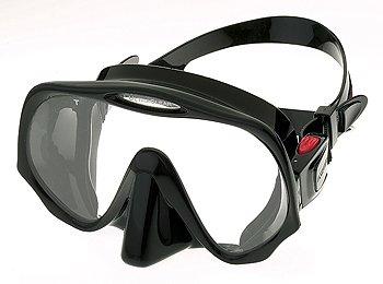Atomic Frameless Einglasmaske Standard Size (Farbe: schwarz)