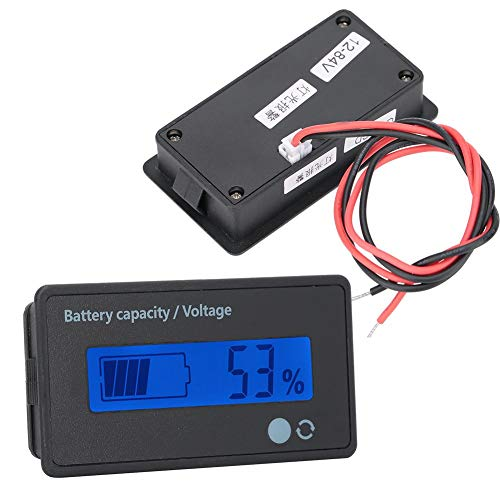 Best Prices! A sixx Battery Capacity Monitor, 8-100V LCD Battery Display, for Battery for Lead-Acid ...