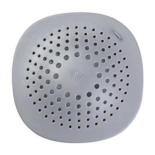Tianxiangjjeu filter, vloerbedekking, filter voor kanaliseren van de keuken, badkamer, haar, anti-blokkering, wastafel Dunkelgrau