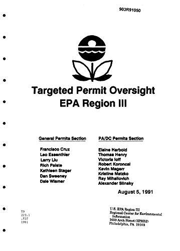 Targeted Permit Oversight EPA Region 3 (English Edition)