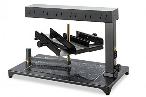 Raclette Gerät Set für Familie - Raclette-Set «Super» - Gerät für einen Laib Käse - für einen authentischen Raclette-Abend
