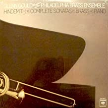 Hindemith / Glenn Gould: The Complete Sonatas for Brass and Piano / Members of the Philadelphia Brass Ensemble (2 LP Set) Sonata for Horn and Piano / Sonata for Bass Tuba and Piano / Sonata for Trumpet in B-Flat and Piano & More