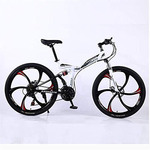 WLMGWRXB 21 versnellingen dubbele vering schijfremmen dubbele fiets mountainbike schooletui 24/26 inch
