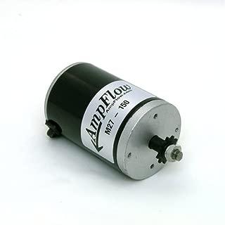 AmpFlow M27-150 Brushed Electric Motor, 150W, 12V, 24V or 36 VDC, 3800 RPM