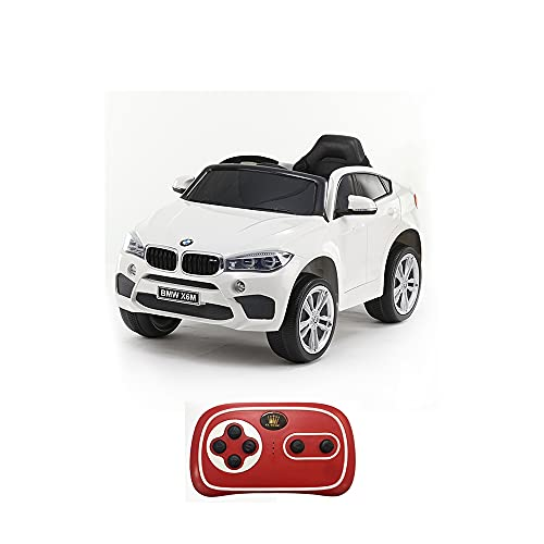 Mazzeo Giocattoli Auto elettrica X6 12v Bianca