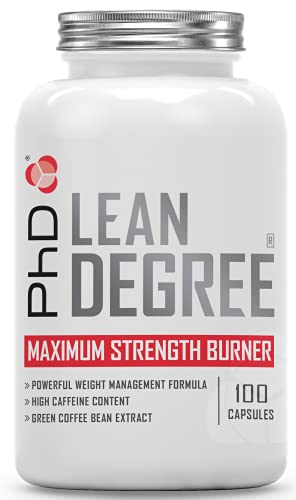 PhD Nutrition Lean Degree Maximum Strength Weight Management Supplement, 100 Capsules