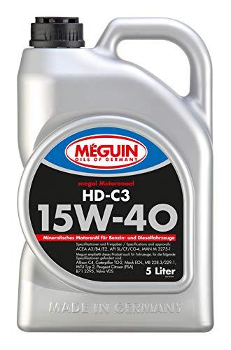 Meguin 4728 Megol Motoröl HD-C3 SAE 15W-40, 5 L