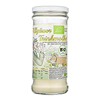 Bio Trinkmolke/Süßmolkepulver (1kg im Rundglas) - aus ökologischer Landwirtschaft - Natürlich und ohne Zusätze
