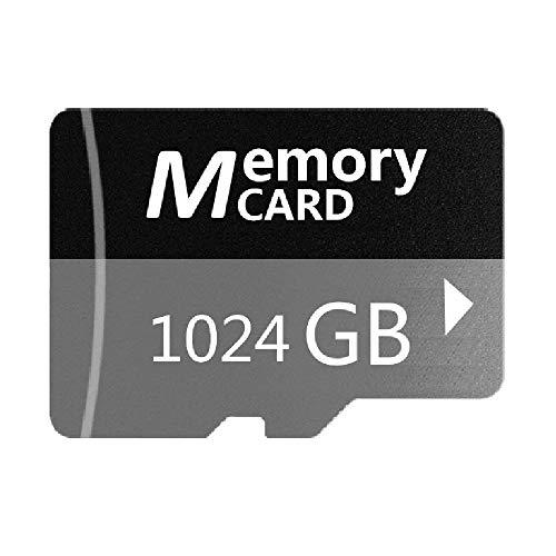 1TB Gray Micro Memory SDカード 高速メモリカード 高速10 スピードクラス データ転送, スマホ カメラ PC パソコン 等 対応 (1TB)
