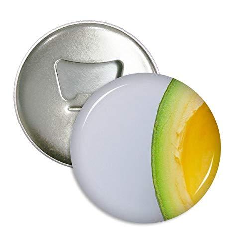 DIYthinker Verse Tropische Fruit Avocado Foto Ronde Flesopener Koelkast Magneet Badge Knop 3 stks Gift