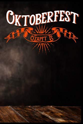 Oktoberfest O'zapft is: Bier Oktoberfest Bierkrug Brezel Bratwurst Dirndl Lederhosen Geschenk (6