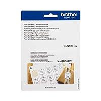 スキャンカットDX専用 Print to Cut(Canvas Workspace用位置合わせ) カッティングサプライ ブラザー CADXPRNTCUT1