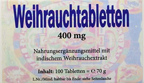 Gall Pharma Weihrauchtabletten 400 mg GPH, 100 Kapseln