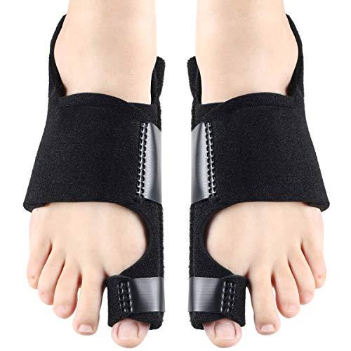 PFativant Korrektur Bandage Ballenzeh Korrektor Fußpflegeprodukte mit Klettbändern für Frauen, Männer und Kinder
