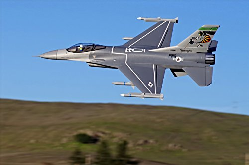 FMS 70mm F16 Falcon Ducted Fan EDF Super Scale RC Airplane Jet 6S PNP (no Radio, Battery, Charger)