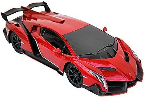 1 18 Scale R C Lamborghini Veneno SuperCar Radio Remote Control Model Car RC (rot)