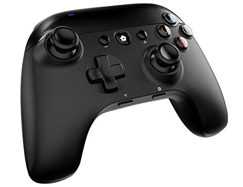 Wireless Switch Pro Controller for Nintendo Switch and Switch Lite,Wired PC,Wireless Controller Support Turbo,Motion Sensing and Double-Shock(Black)